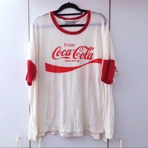 WILDFOX Couture Coca-Cola Sunny Morning Comfy Tee